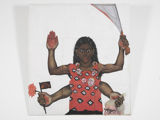 Housewives with Steak-Knives. Sutapa Biswas, 1985.